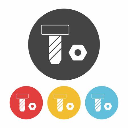 tornillos: icono de tornillo