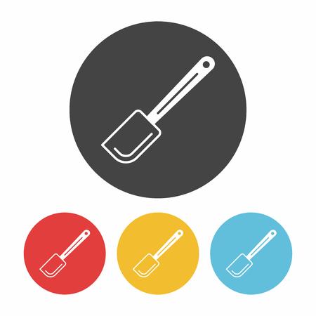 spatula: Spatula icon Illustration