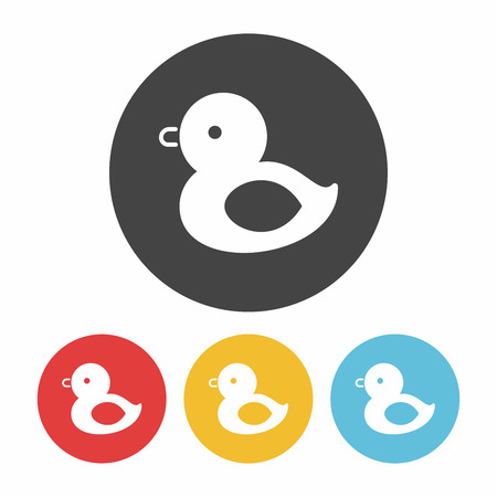 baby toy: baby toy duck icon