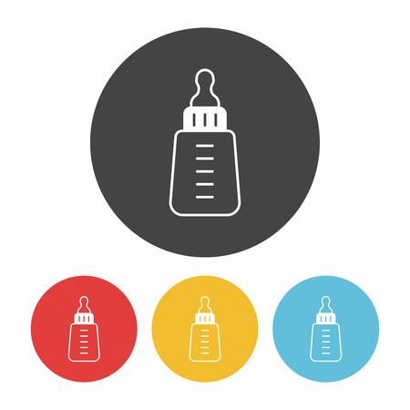 feeding bottle: Feeding bottle icon