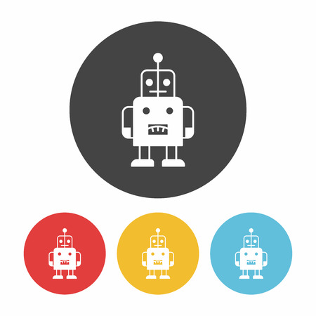baby toy: baby toy robot icon