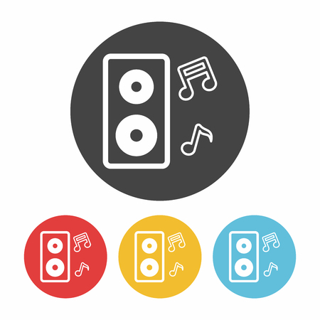 sounding: Sound equipment icon