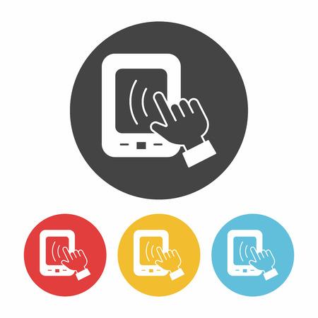 phone: phone icon Illustration