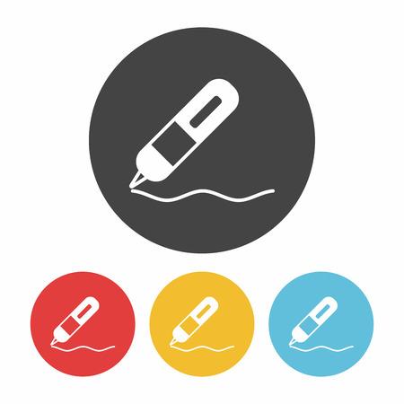 writing equipment: pen icon