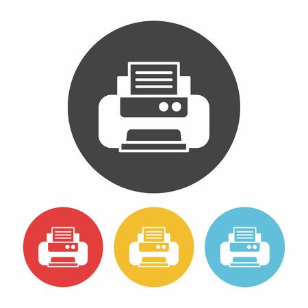 printer icon Stock Vector - 52978645