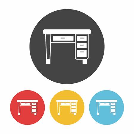 desk: desk icon Illustration