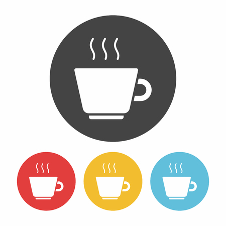 the hot: hot coffee icon
