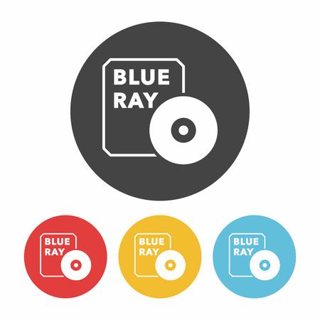 cd rom: DVD icon