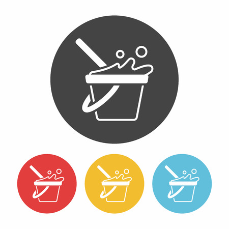 bucketful: water bucket icon