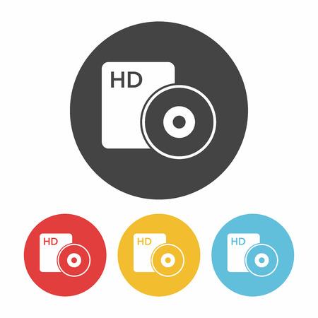 dvd rom: DVD icon