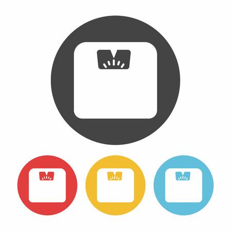 weighing machine: Weighing machine icon