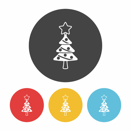 christmas icon: Christmas tree icon
