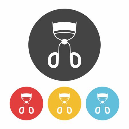 curler: Eyelash curler icon