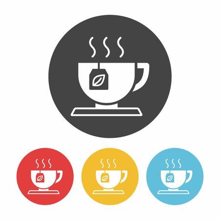 the hot: hot tea icon