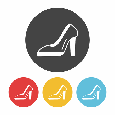 high heeled: high heel icon