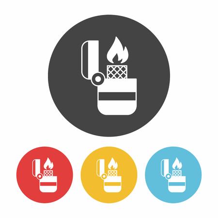 butane: Lighter icon