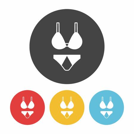 thong: underwear icon Illustration