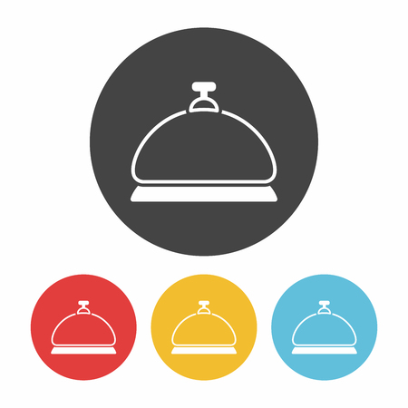 service bell: Service bell icon Illustration