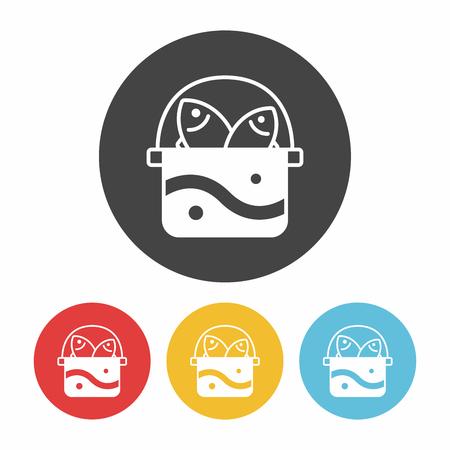 tackle box: fishing box icon