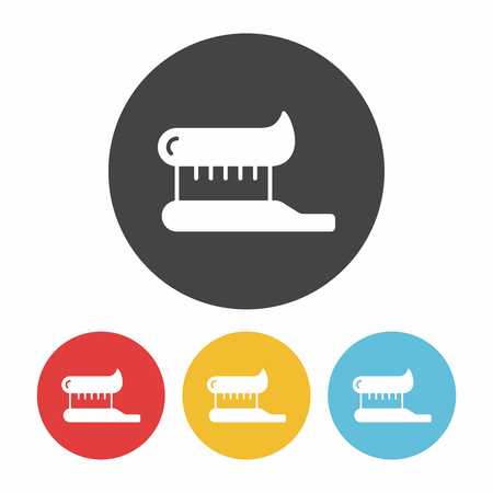 toiletry: tooth brush icon Illustration