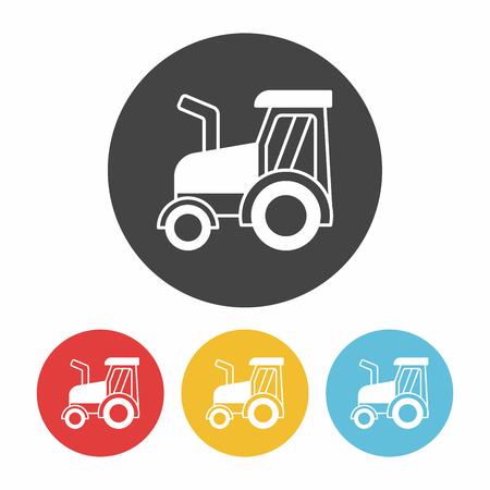 cargo truck: cargo truck icon Illustration