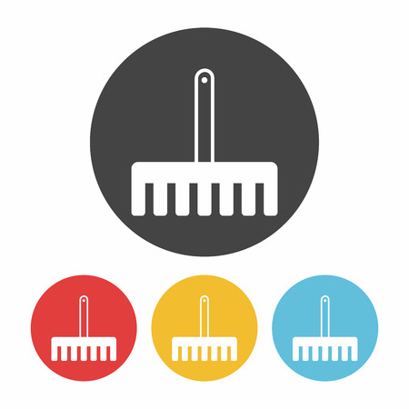 hand trowels: gardening shovel icon
