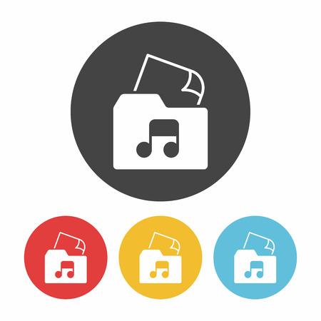 docs: music file icon Illustration