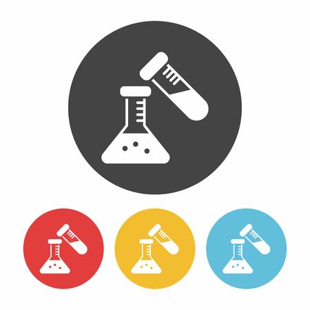 drug discovery: Beaker icon