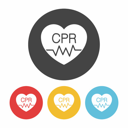 cpr: CPR icon Illustration