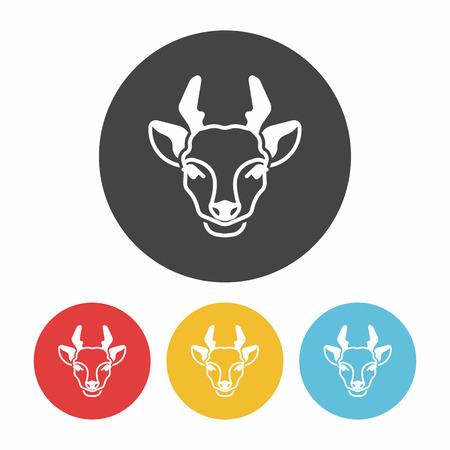 antelope: animal Antelope icon