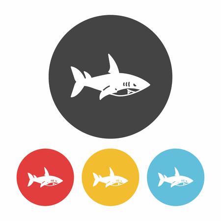 great danger: shark icon
