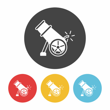 cannonball: Cannon bomb icon