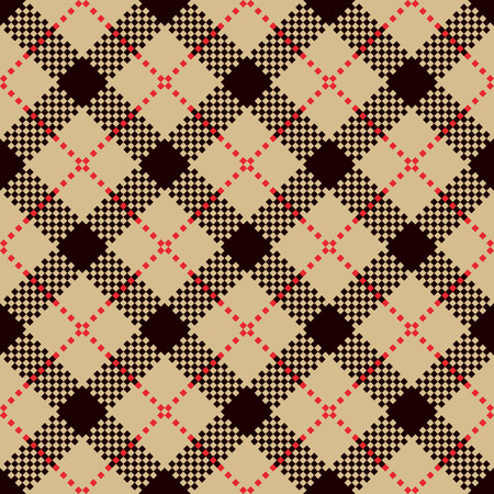 flannel: Check Plaid Patterns. Lumberjack Flannel Shirt Inspired. Square Pixel Gingham. Seamless Tiles. Trendy Hipster Style Backgrounds. Vector Files Pattern Swatches