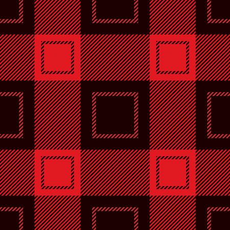 flannel: Seamless Tartan Pattern. Lumberjack Flannel Shirt Inspired.  Trendy Hipster Style Backgrounds.