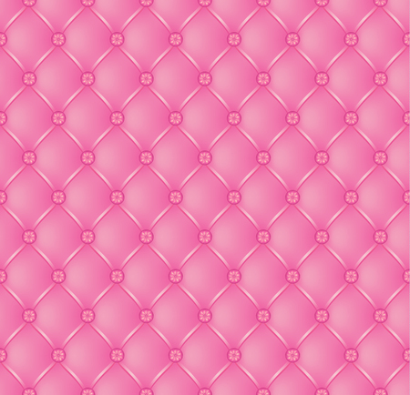 button tufted: Vector abstract upholstery pink background. Can be used in cover design, book design, website background, CD cover, advertising. Illustration
