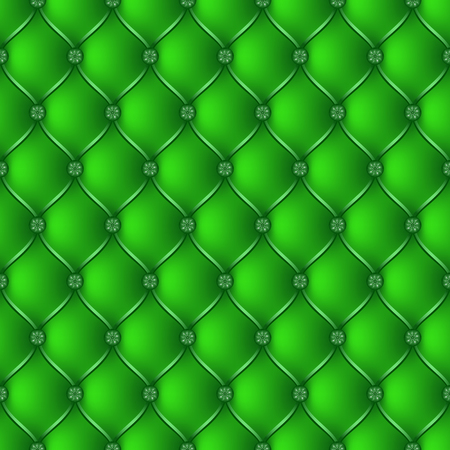 button tufted: Vector abstract upholstery green background. Can be used in cover design, book design, website background, CD cover, advertising.