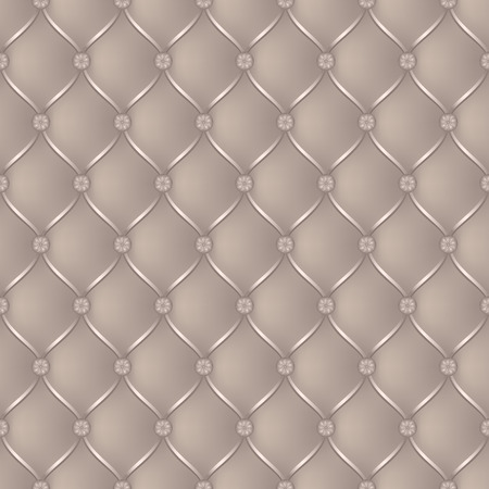 button tufted: Vector abstract upholstery beige background. Can be used in cover design, book design, website background, CD cover, advertising Illustration