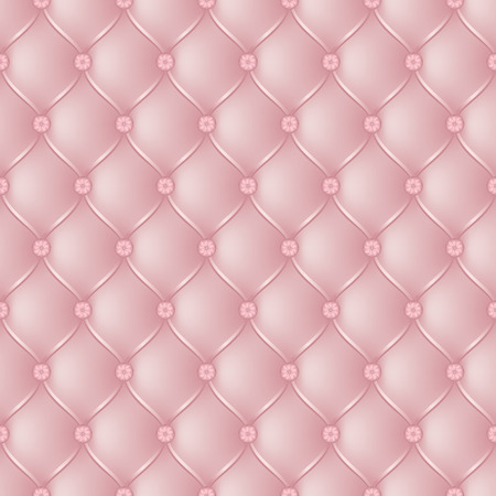 button tufted: Vector abstract upholstery light pink background. Can be used in cover design, book design, website background, CD cover, advertising. Illustration