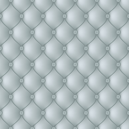 button tufted: Vector abstract upholstery with blue gray background. Can be used in cover design, book design, website background, CD cover, advertising