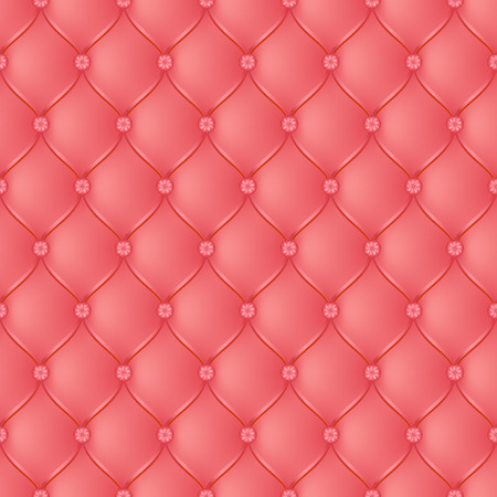 button tufted: Vector abstract upholstery light red background. Can be used in cover design, book design, website background, CD cover, advertising.