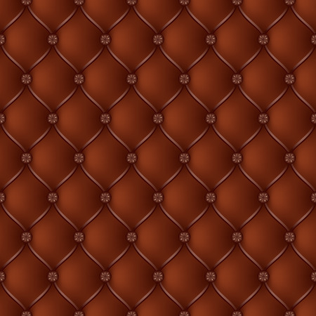 button tufted: Vector abstract upholstery chocolate background. Can be used in cover design, book design, website background, CD cover, advertising.