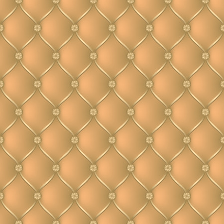 button tufted: Vector abstract upholstery beige background. Can be used in cover design, book design, website background, CD cover, advertising. Illustration
