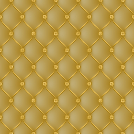 Vector abstract upholstery dark gold background. Can be used in cover design, book design, website background, CD cover, advertising.