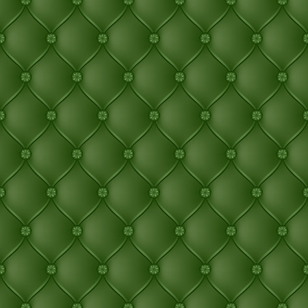 button tufted: Vector abstract upholstery green background. Can be used in cover design, book design, website background, CD cover, advertising