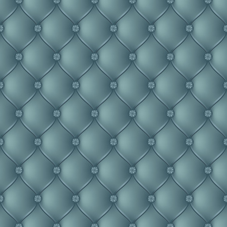 button tufted: Vector abstract upholstery turquoise background. Can be used in cover design, book design, website background, CD cover, advertising. Illustration