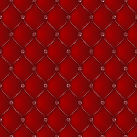 button tufted: Vector abstract upholstery dark red background. Can be used in cover design, book design, website background, CD cover, advertising. Illustration
