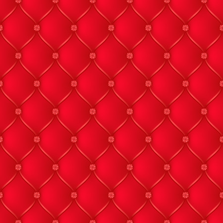 button tufted: Vector abstract upholstery red background. Can be used in cover design, book design, website background, CD cover, advertising.