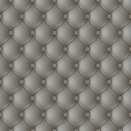 button tufted: Vector abstract upholstery gray background. Can be used in cover design, book design, website background, CD cover, advertising. Illustration