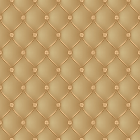 button tufted: Vector abstract upholstery brown background. Can be used in cover design, book design, website background, CD cover, advertising. Illustration