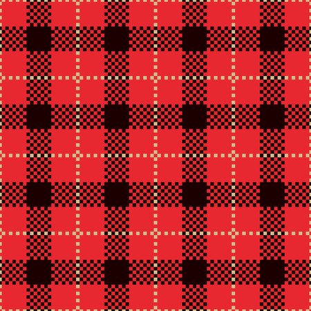plaid patterns: Red Check Plaid Patterns